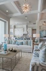 Elegant Beach Coastal Style Kitchen Decor Ideas 21
