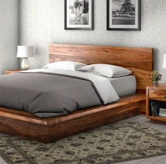 Lovely Diy Wooden Platform Bed Design Ideas 12