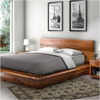 Lovely Diy Wooden Platform Bed Design Ideas 25