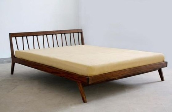 Lovely Diy Wooden Platform Bed Design Ideas 44