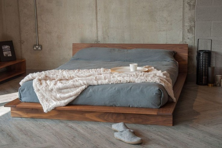 Lovely Diy Wooden Platform Bed Design Ideas 49