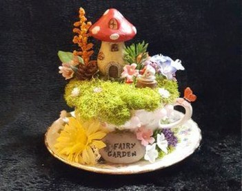 Magnificient Diy Fairy Garden Ideas With Plants 34