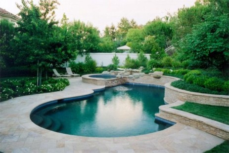 Perfect Mediteranean Swimming Pool Design Ideas 20