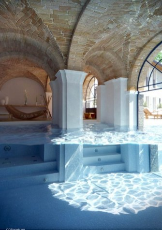 Perfect Mediteranean Swimming Pool Design Ideas 30