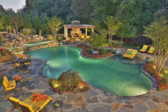 Perfect Mediteranean Swimming Pool Design Ideas 37