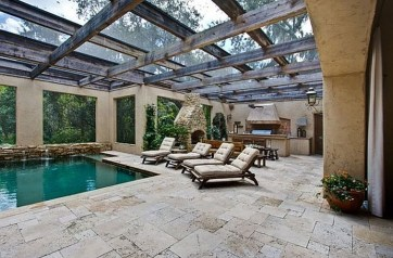 Perfect Mediteranean Swimming Pool Design Ideas 47