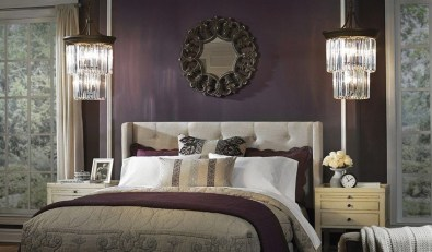 Pretty Chandelier Lamp Design Ideas For Your Bedroom 13