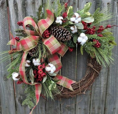 Romantic Rustic Christmas Decoration Ideas 07