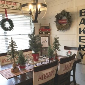 Romantic Rustic Christmas Decoration Ideas 09