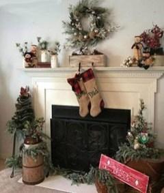 Romantic Rustic Christmas Decoration Ideas 12