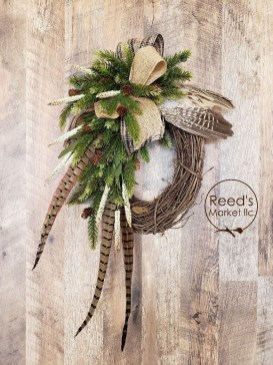 Romantic Rustic Christmas Decoration Ideas 23