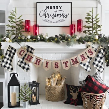 Romantic Rustic Christmas Decoration Ideas 25
