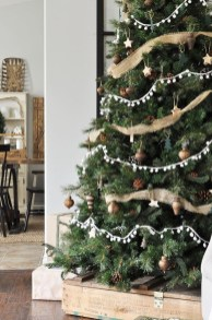 Romantic Rustic Christmas Decoration Ideas 36