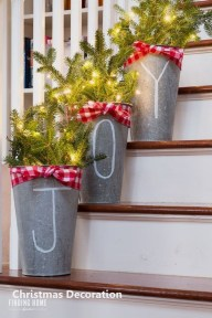Romantic Rustic Christmas Decoration Ideas 48