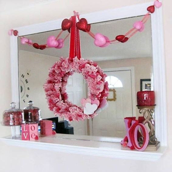 Stunning Red Home Decor Ideas For Valentines Day 49