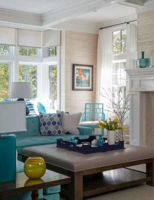 Stylish Coastal Themed Living Room Decor Ideas 05