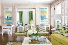 Stylish Coastal Themed Living Room Decor Ideas 09
