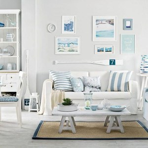 Stylish Coastal Themed Living Room Decor Ideas 10