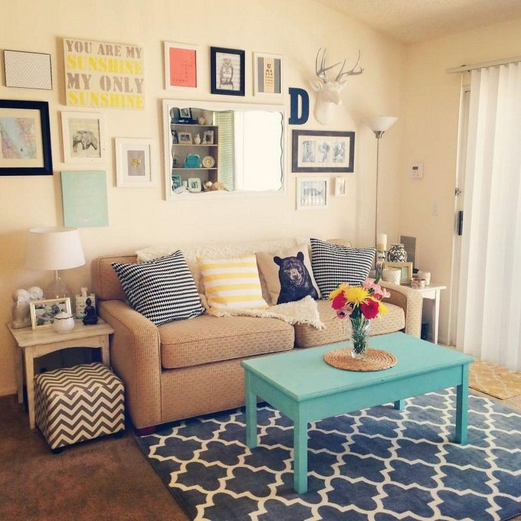 20+ Unique Diy Small Apartment Decorating Ideas On A ...
