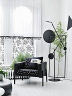 Affordable Apartment Living Room Design Ideas With Black And White Style 08