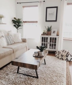 Affordable Apartment Living Room Design Ideas With Black And White Style 28