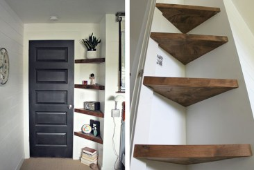 Amazing Corner Shelves Design Ideas 27