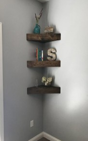 Amazing Corner Shelves Design Ideas 28
