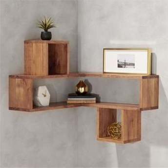 Amazing Corner Shelves Design Ideas 36
