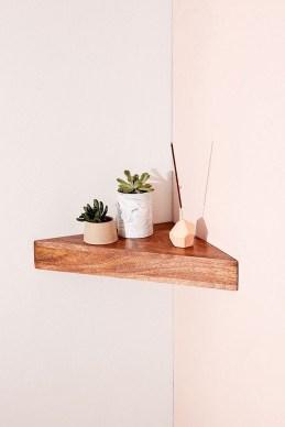 Amazing Corner Shelves Design Ideas 44