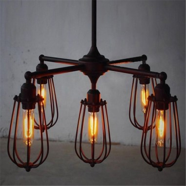 Charming Industrial Lighting Design Ideas For Home 49