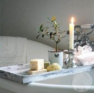 Comfy Farmhouse Wooden Bathroom Design Ideas 46