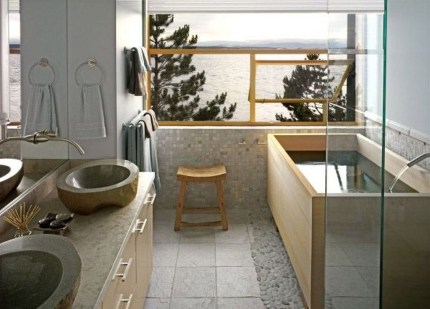 Comfy Traditional Bathroom Design Ideas With Japanese Style 03