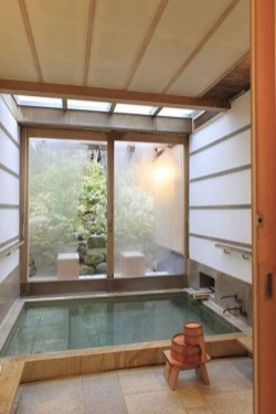 Comfy Traditional Bathroom Design Ideas With Japanese Style 32