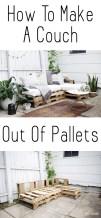 Elegant Diy Pallet Furniture Design Ideas 47