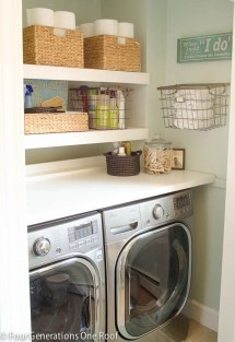 Enjoying Laundry Room Ideas For Small Space 19