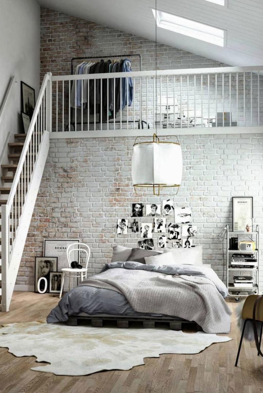 Fantastic Industrial Bedroom Design Ideas 07