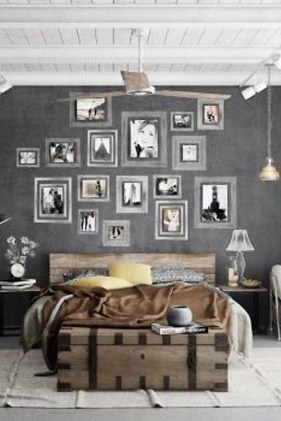 Fantastic Industrial Bedroom Design Ideas 15