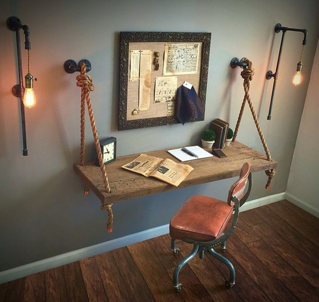 Fantastic Industrial Bedroom Design Ideas 25