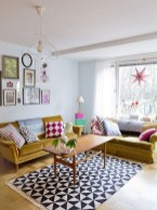 Fascinating Colorful Rug Designs Ideas For Living Room 02
