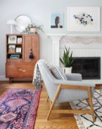 Fascinating Colorful Rug Designs Ideas For Living Room 31