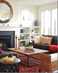 Fascinating Colorful Rug Designs Ideas For Living Room 45