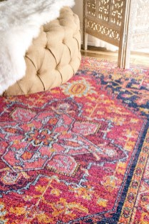 Fascinating Colorful Rug Designs Ideas For Living Room 52