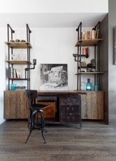 Gorgeous Industrial Table Design Ideas For Home Office 01