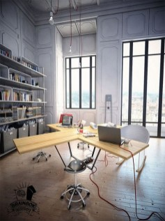 Gorgeous Industrial Table Design Ideas For Home Office 10