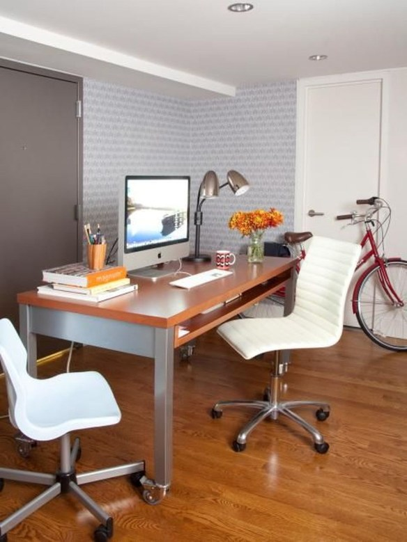 Gorgeous Industrial Table Design Ideas For Home Office 30