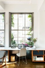 Gorgeous Industrial Table Design Ideas For Home Office 39