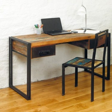Gorgeous Industrial Table Design Ideas For Home Office 42