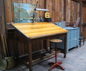 Gorgeous Industrial Table Design Ideas For Home Office 55