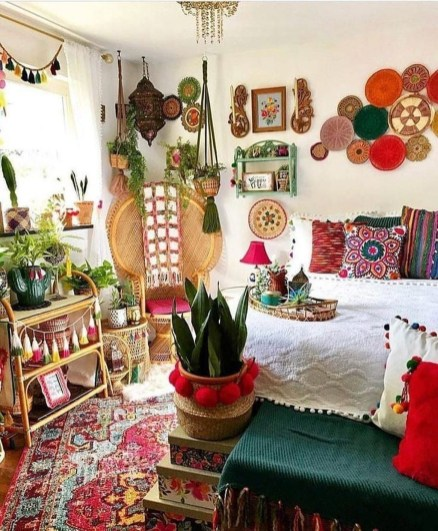 Lovely Boho Bedroom Decor Ideas 01