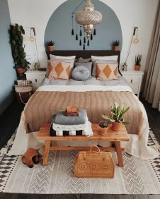 Lovely Boho Bedroom Decor Ideas 16